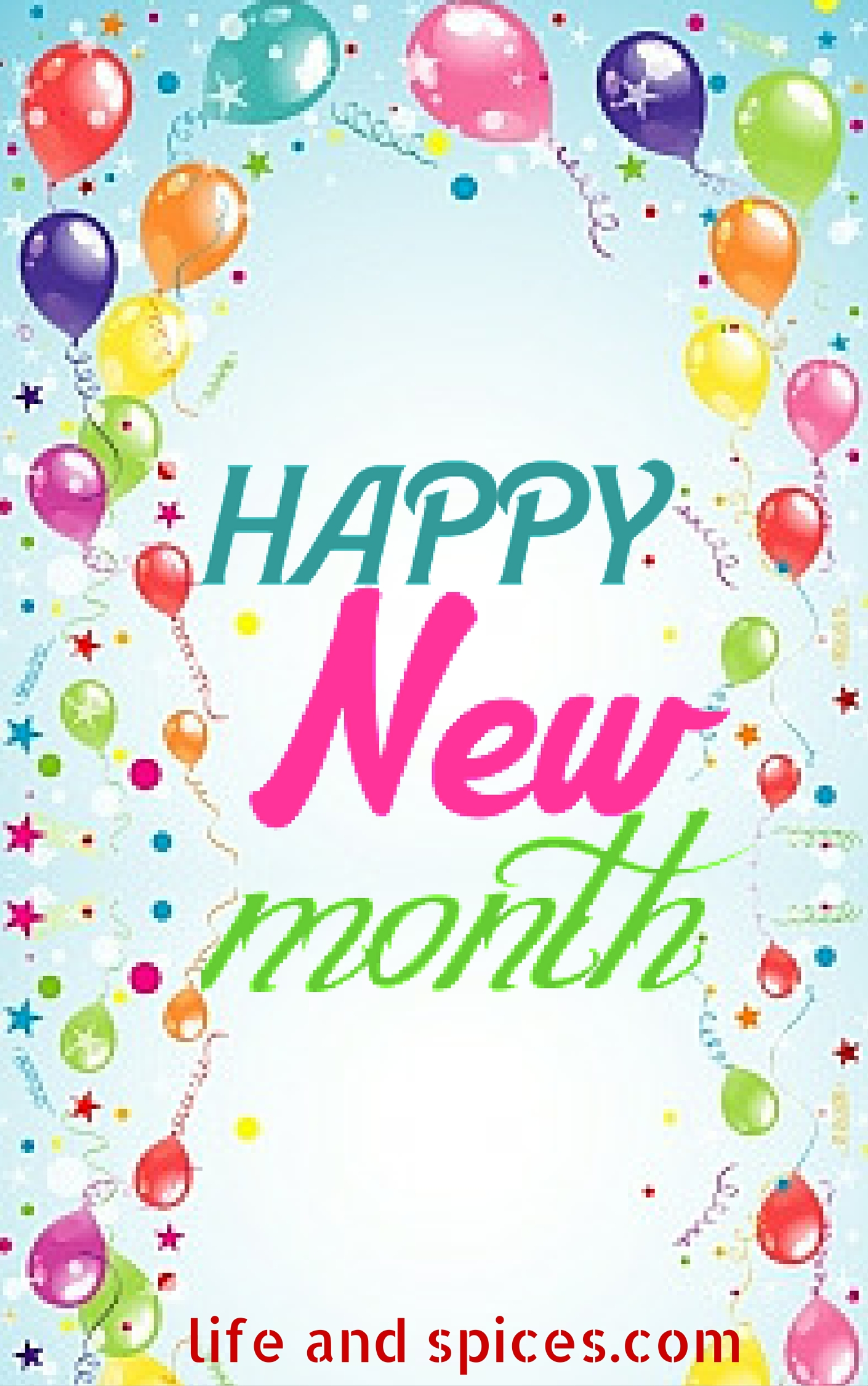 Happy new month 2 life and spices happy new month 2 m4hsunfo